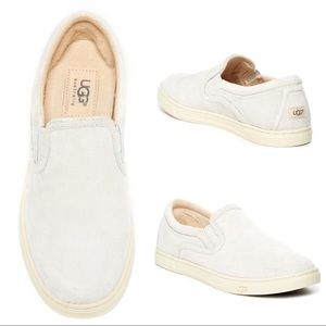Ugg   Fierce Suede Slip On Sneakers